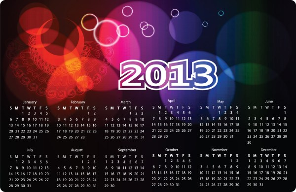 2013 Calendar Wallpaper. 1920 x 1248.Happy New Years Screensavers