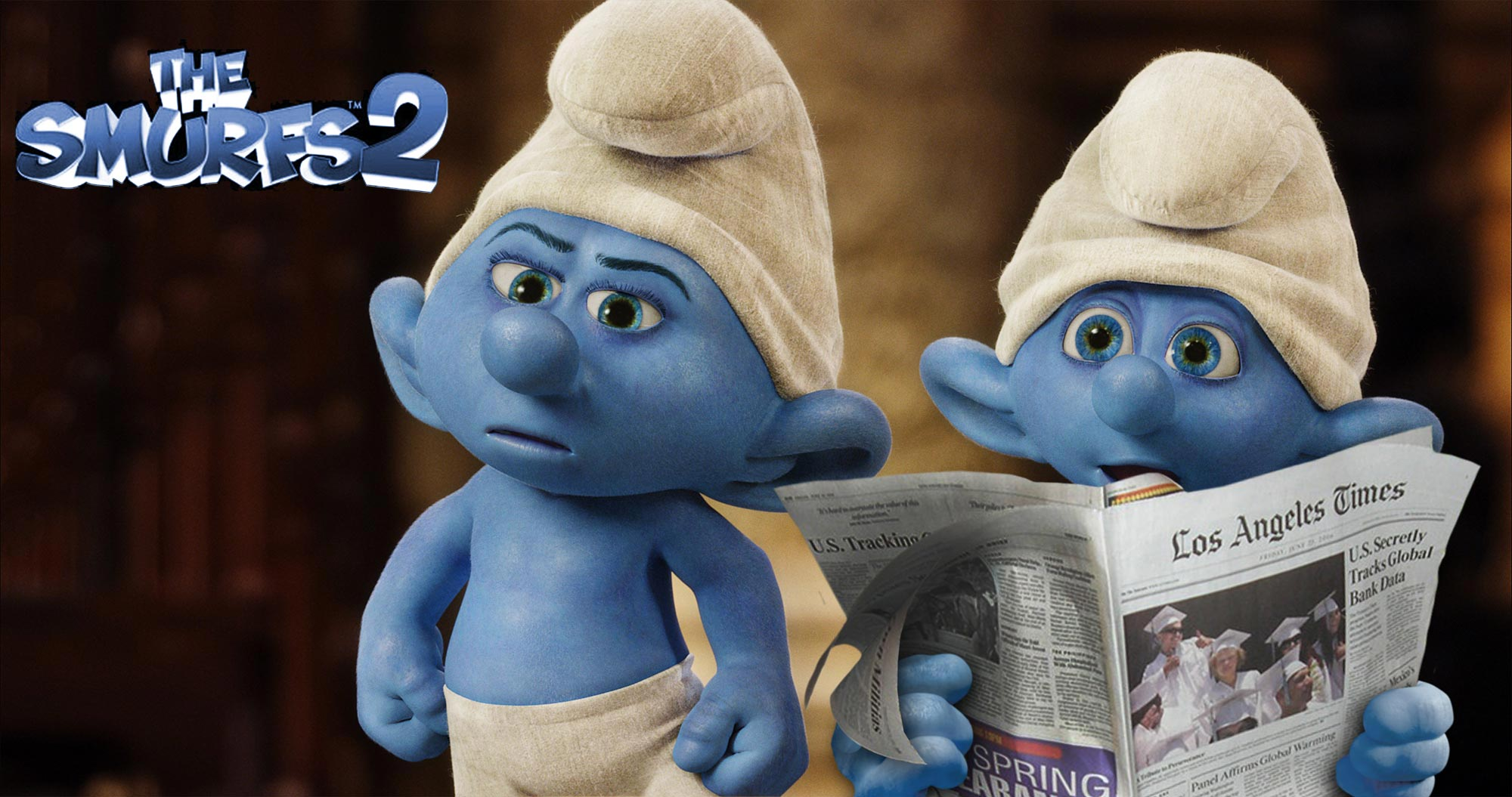 Smurfs 3d Live Wallpaper The Smurfs 2 International Trailer And New Photos Filmofilia