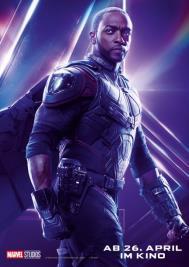 Der Falcon in Infinity Wars 2018