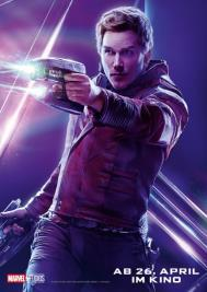 Star-Lord in Avengers Infinity War