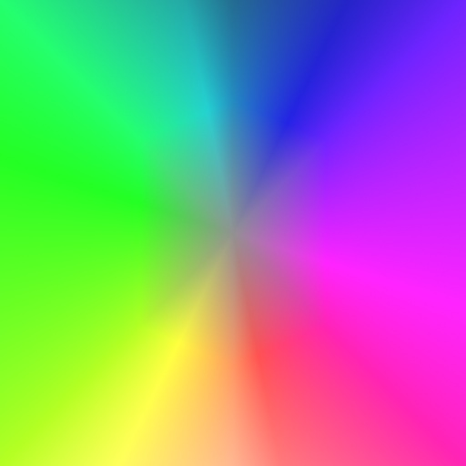 Bright Colors Wallpaper 3d Another Radial Gradient