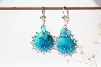 Ocean Blue Earrings Seventy 6 Moon River Ocean Blue