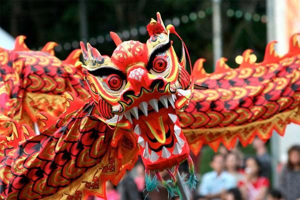 Chine dragon