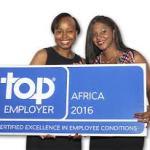 Les TOP Employers 2016 en Afrique