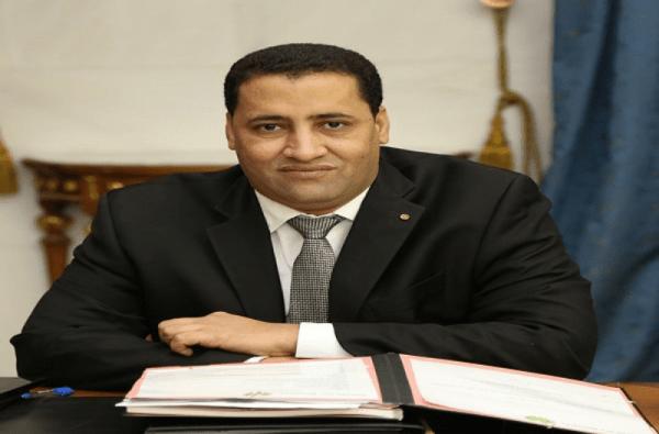 Moctar Ould Diaye, ministre de l'économie et des finances de la Mauritanie