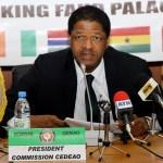 MARCEL A. DE SOUZA sera investi lors du 49eme sommet des chefs d'Etat et de gouvernement de la CEDEAO à Dakar
