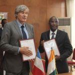 La France décaisse 52 milliards F CFA au profit de la Côte d'Ivoire