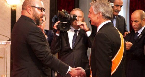 Mohammed VI et Raymond L. Conner président de Boeing