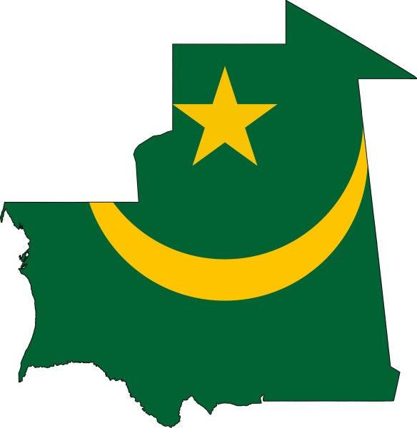 carte-drapeaux-mauritanie