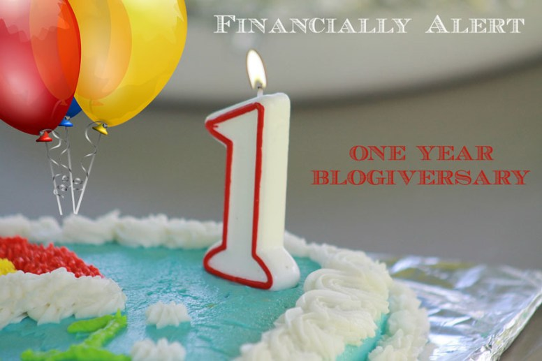 Financially Alert One Year Blogivesary-c