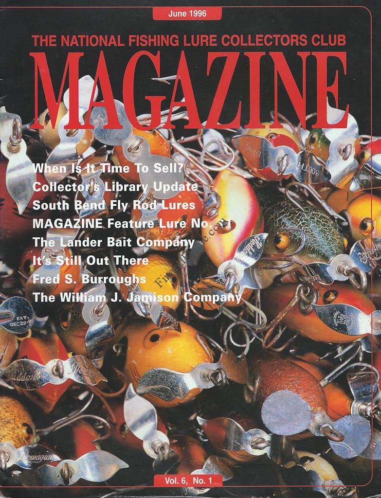 NFLCC Magazine Article Index 1996 Vol 6 No 1
