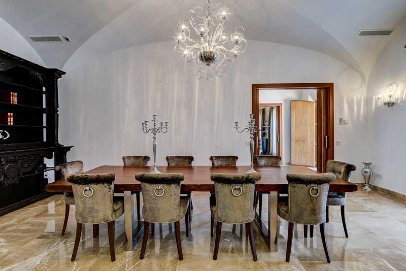Küche \\u0026 Esszimmer   Luxus Finca La Vita Manacor Mallorca   Esszimmer  Luxus