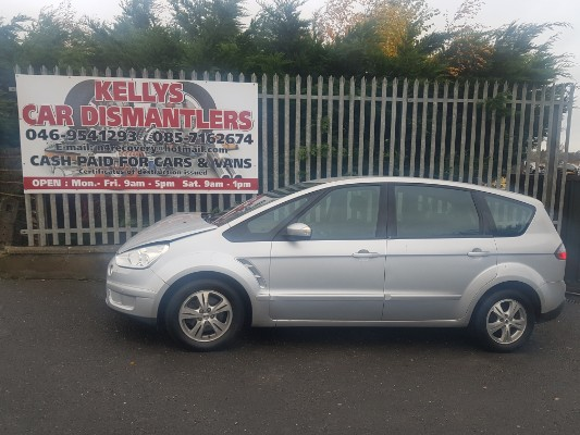 Parts available for a Silver 5 door 18L 2008 FORD S-MAX Zetec 18 6