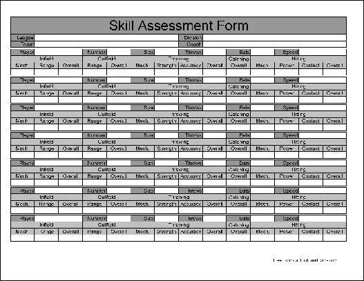 Free Basic Skill Assessment