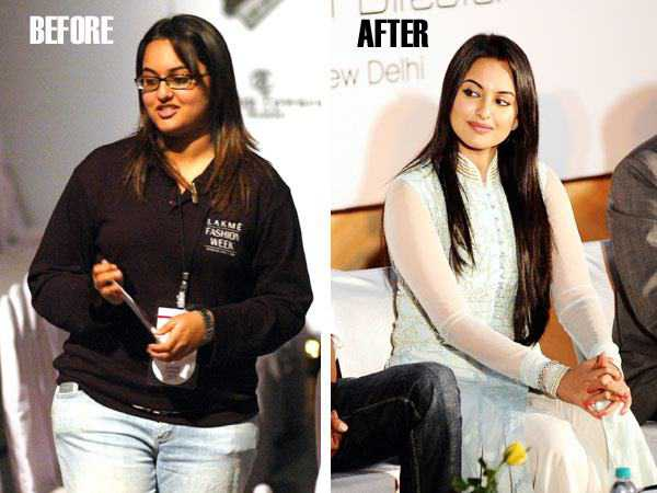 Sonakshi Sinha Fat to Fit Actress