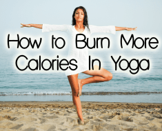 how to burn more calories doing yoga
