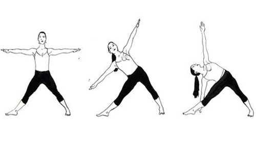 Trikonasana -Triangle -Posture