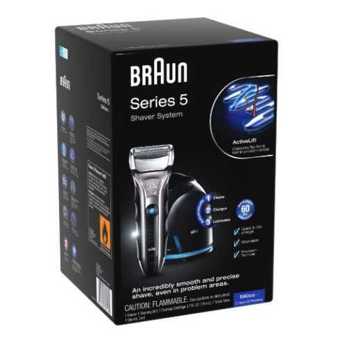 Braun Series 5 590cc Electric Razors