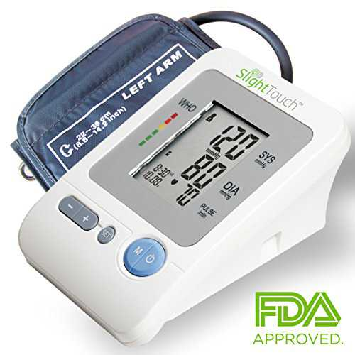 Slight Touch FDA Approved Fully Automatic Upper Arm Blood Pressure Monitor