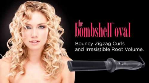 Sultra – The Bombshell Cone Rod Curling Iron