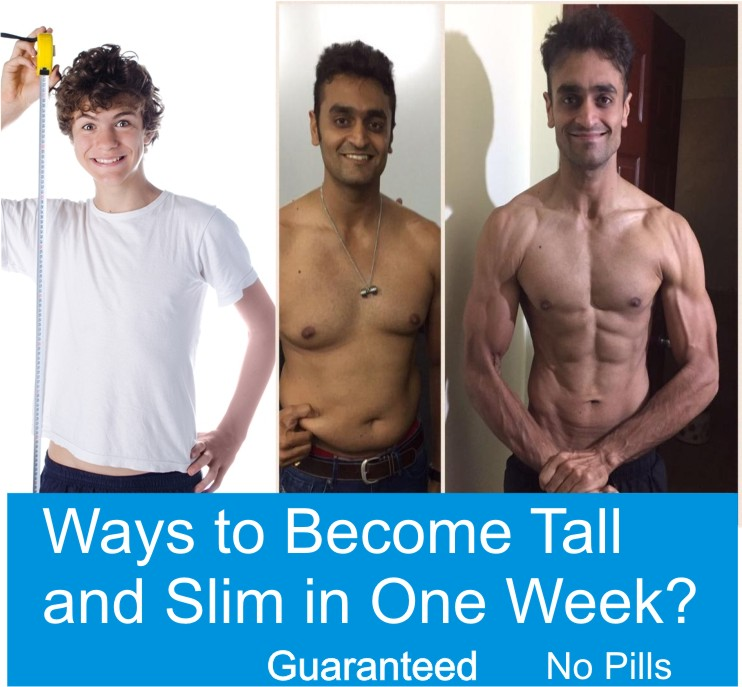 How to Become Tall And Slim in Few Days - Find Health Tips