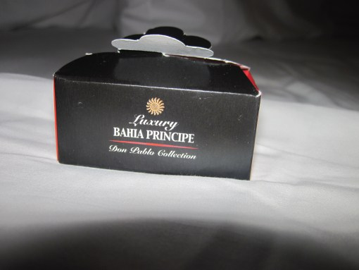 We got chocolates during the turn-down service every evening at the Bahai Principe.