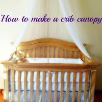 How To Make A Crib Canopy