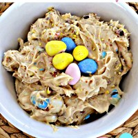 Cadbury Mini Egg Cookie Dough Dip