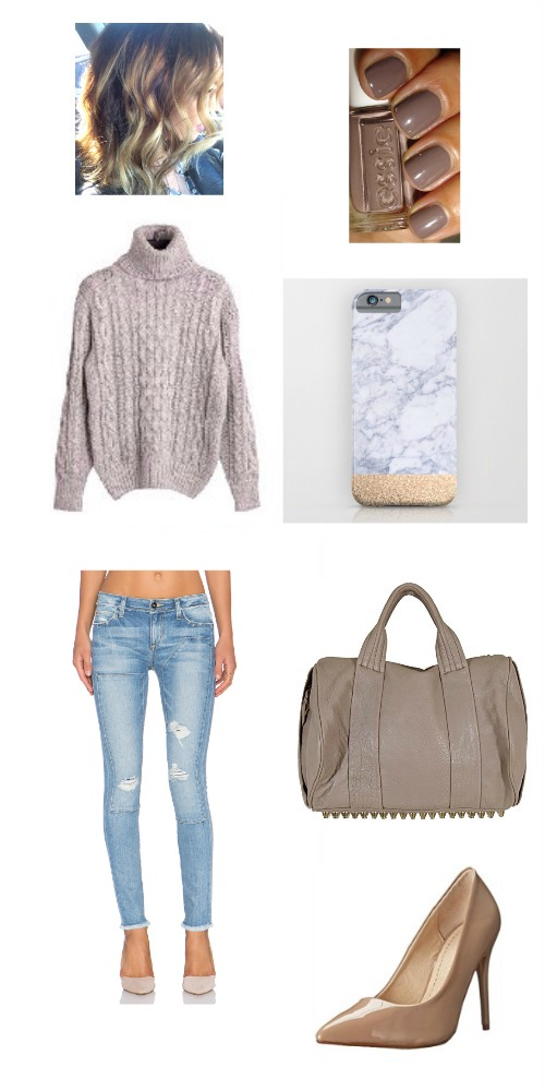 comfy neutral winter street style 2016