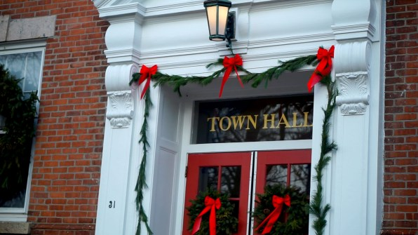 Town Hall in Guilford, CT