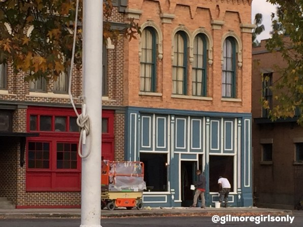 Stars Hollow Bookstore Under Construction