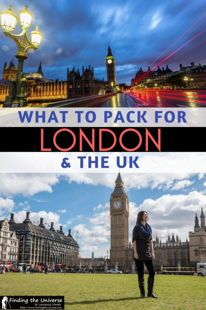 London Packing List What to Pack for London and the UK at any time
