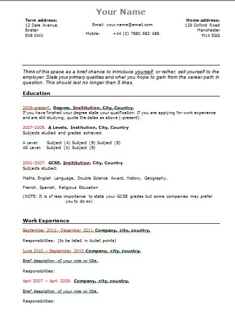 concept of creating an resume free free resume