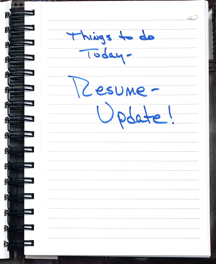 how to update your resume - Ozilalmanoof - how to update your resume