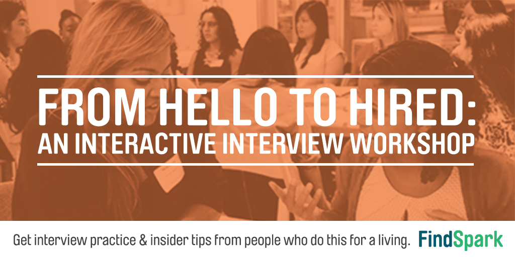 From Hello to Hired An Interactive Interview Workshop - FindSpark