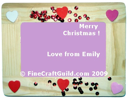 Handmade Gifts Easy Picture Frames Decoration for Kids