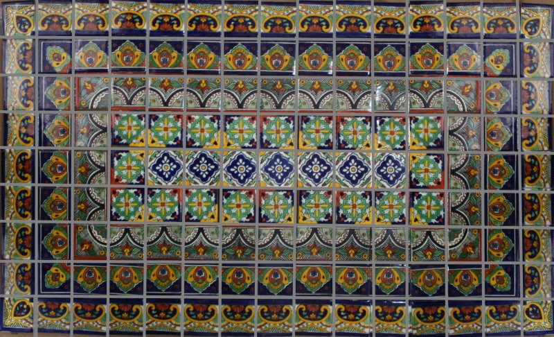 Mexican Tile In Mosaics Mexican Home Decor Gallery