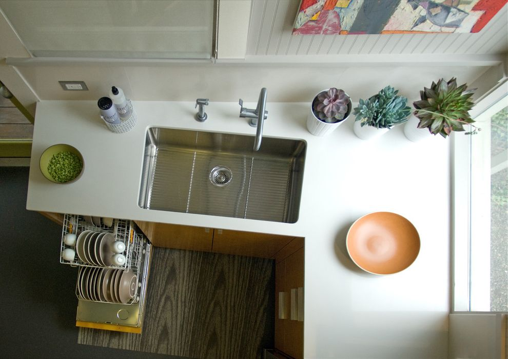 High Back Kitchen Sink Contemporary Kitchen And Ceiling