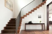 Thick Stair Treads with Modern Staircase Also Modern ...
