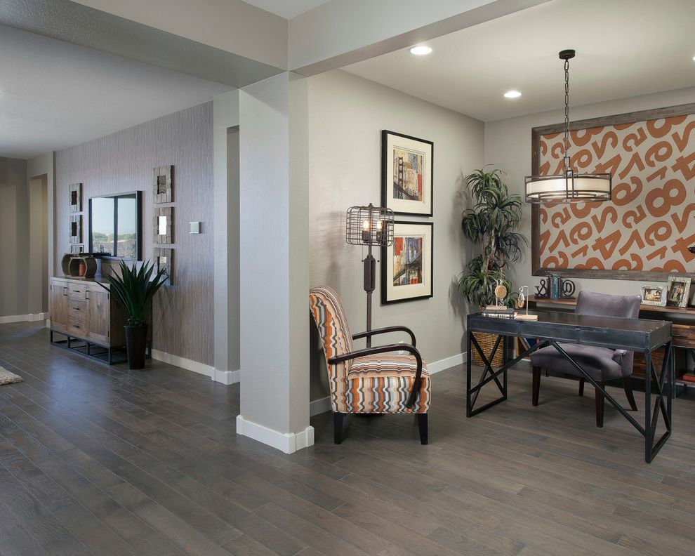 Unfinished Hardwood Flooring Home Depot Contemporary Hall
