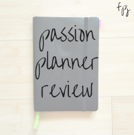 passion planner review