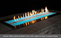 Carol Rose Outdoor Linear Fire Pit | Fine's Gas