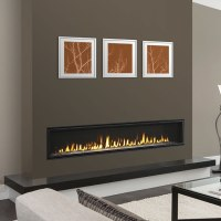 Echelon II Wide View 72 Inch Fireplace by Majestic | Fine ...