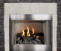 """42"""" Outdoor Gas Fireplace Electronic Ignition 