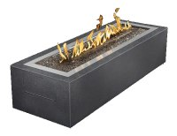 PatioFlame Linear Fire Pit, Gas Outdoor Fire Pit | Fines Gas