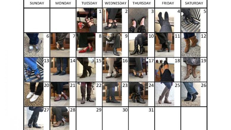 31 day footwear challenge - days 22 thru 28