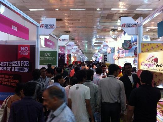Franchise India 2013 Food Exhibits