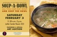 Soup-a-Bowl Fundraiser and Art Auction - Finlandia ...