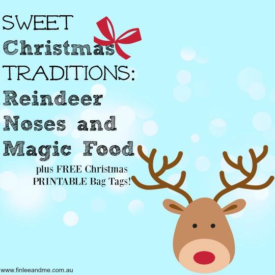 Christmas Fun Printables Reindeer Food Bag Tags Finlee and Me