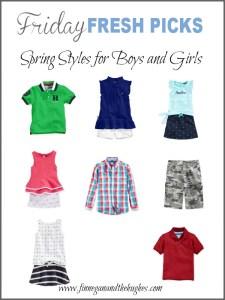 Friday's Fresh Picks: Spring Styles for Boys and Girls